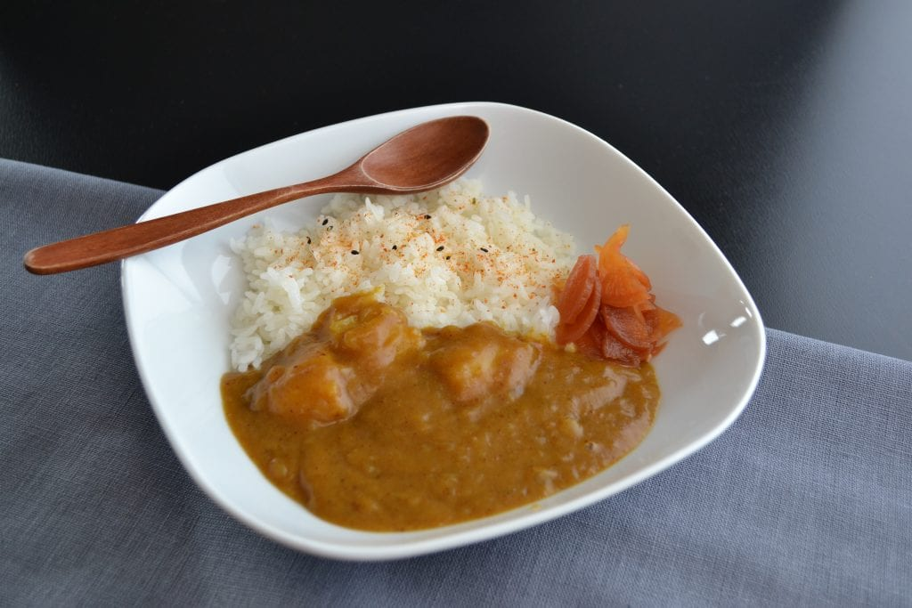Receta curry japonés