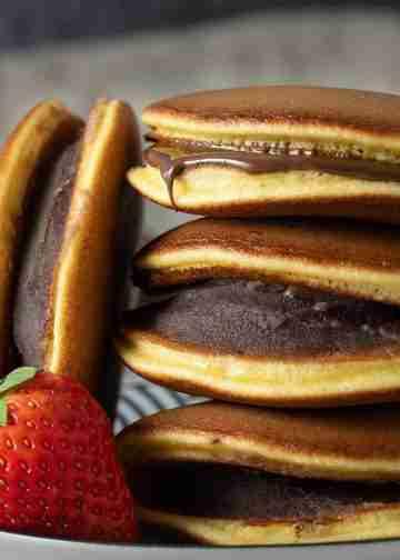 Receta Dorayaki pastelito japones fácil