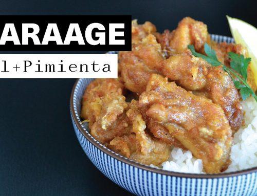 Receta Karaage, pollo frito japonés