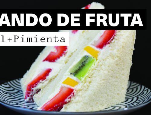 Receta Sando de Frutas – El sándwich de fruta japonés