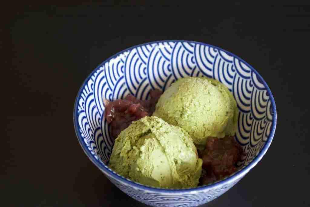 Receta Helado de Té Verde
