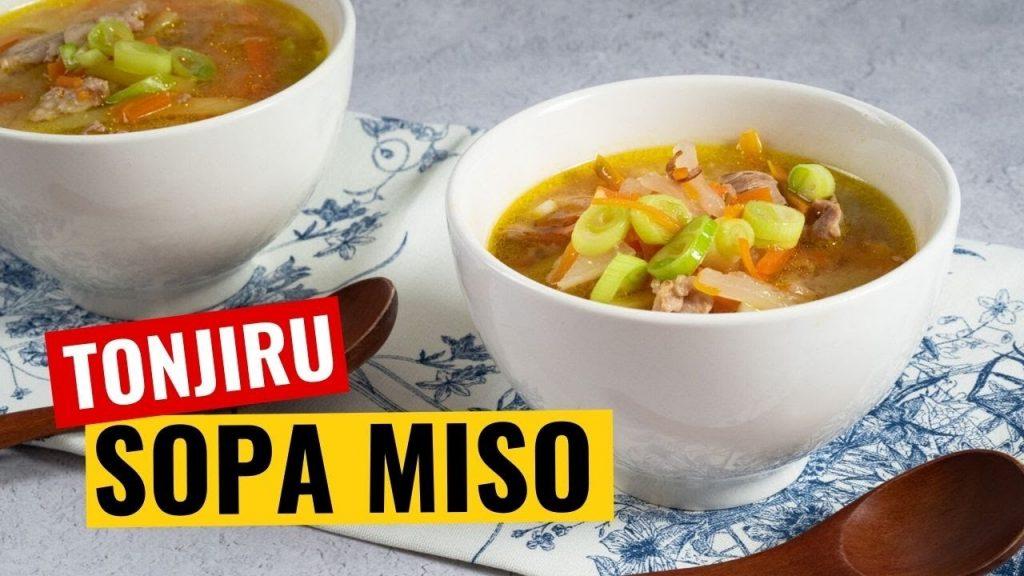 receta tonjiru sopa miso