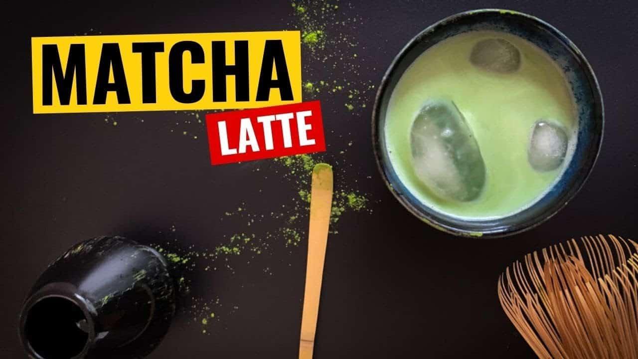 Receta Matcha Latte