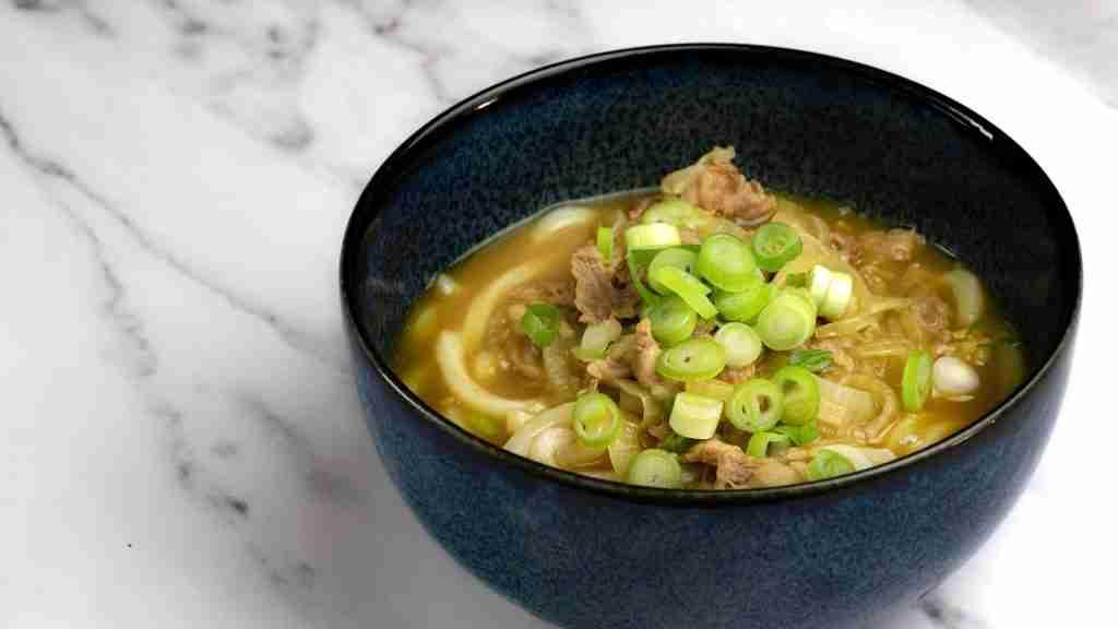 receta curry udon