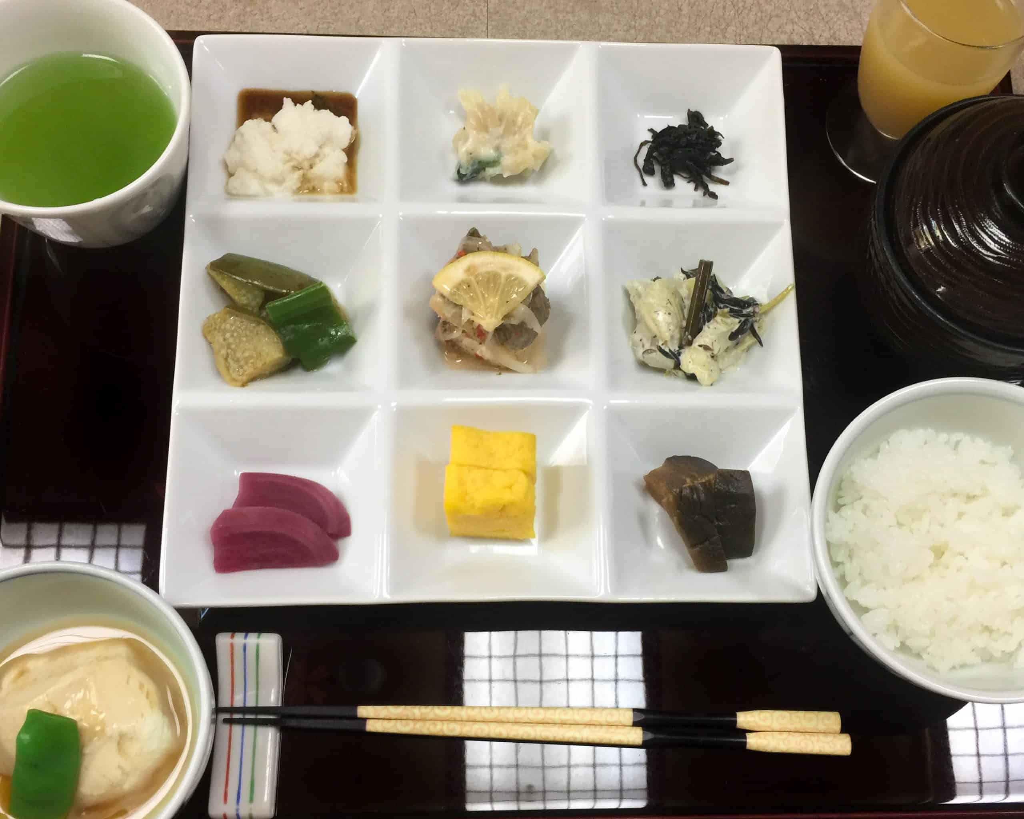 desayuno japones tradicional