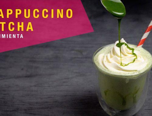 Receta Frappuccino de Matcha y Chocolate Blanco