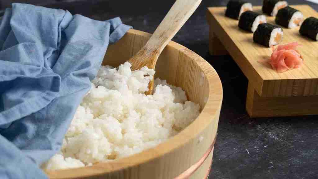 Receta Arroz para sushi fácil