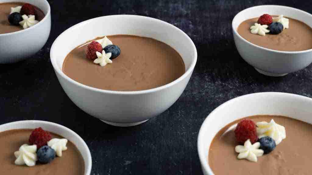 Receta Mousse de chocolate fácil